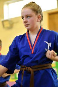 SESMA karate student training