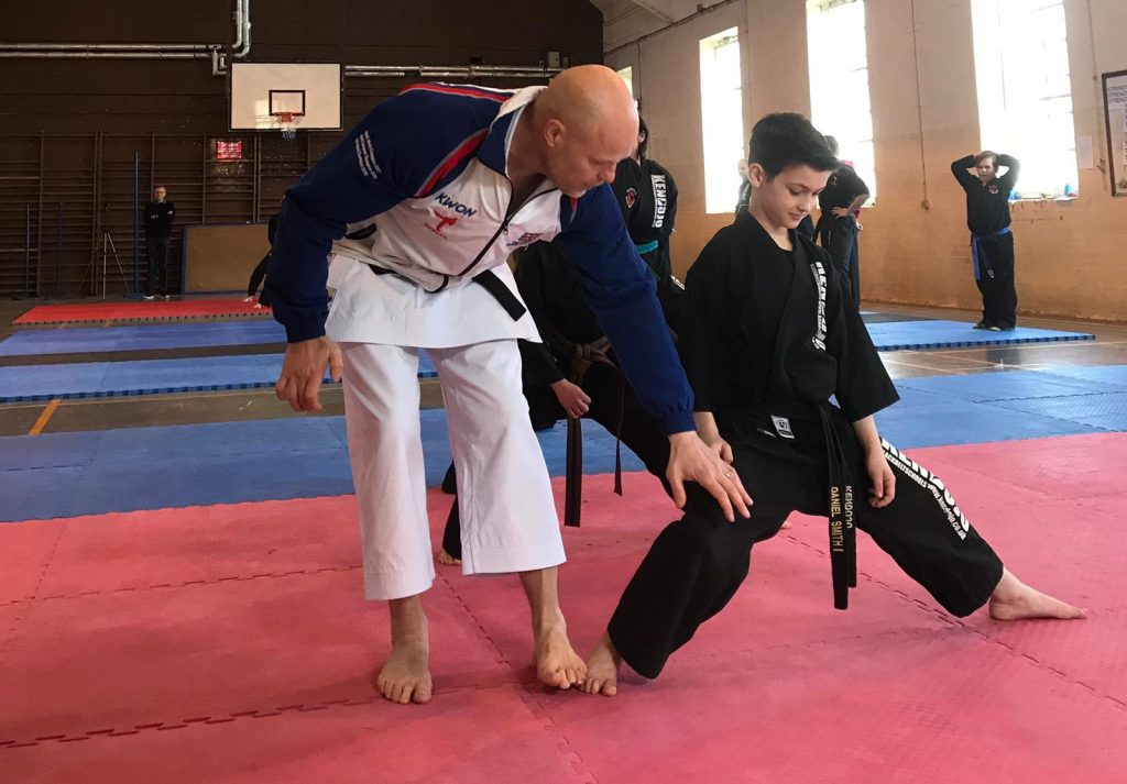 Master Wayne SESMA Martial arts norwich GB coach