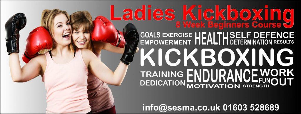 Ladies Kickboxing 8 Week Beginners Course