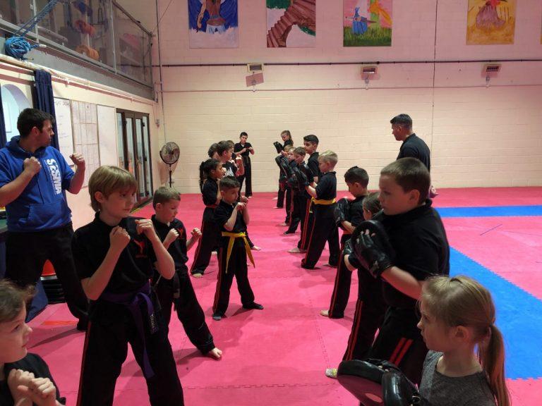 SESMA Martial arts norwich junior kickboxing class