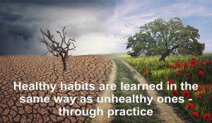 Motivational Monday Habits Picture
