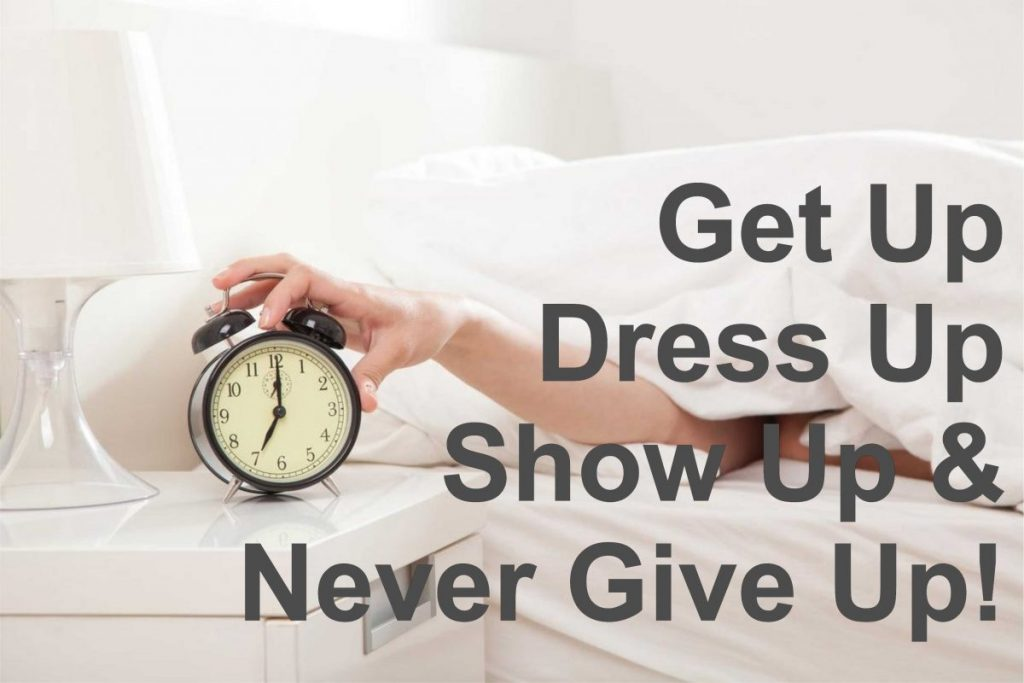 Get Up quote