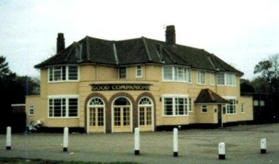 Good Companions pub 1983 where Master Wayne Baker sesma first started martial arts