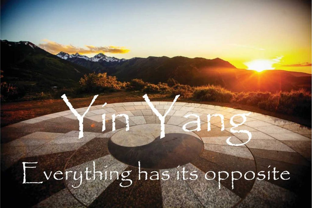 Yin Yang SESMA Martial Arts motivational monday evrrything has its opposite