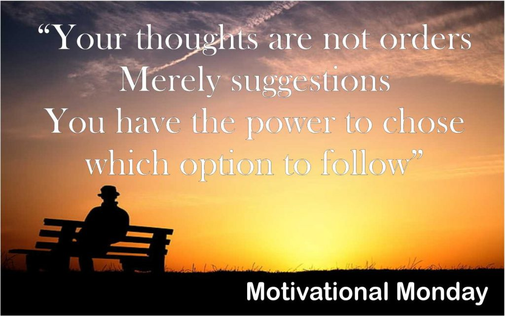 Motivational Monday sesma martial arts norwich & newmarket, your mind your choice